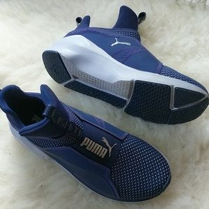 Puma Purple Rebel Trainer Sneakers